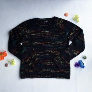 Anthropologie - Black & Color, Abstract Sweater